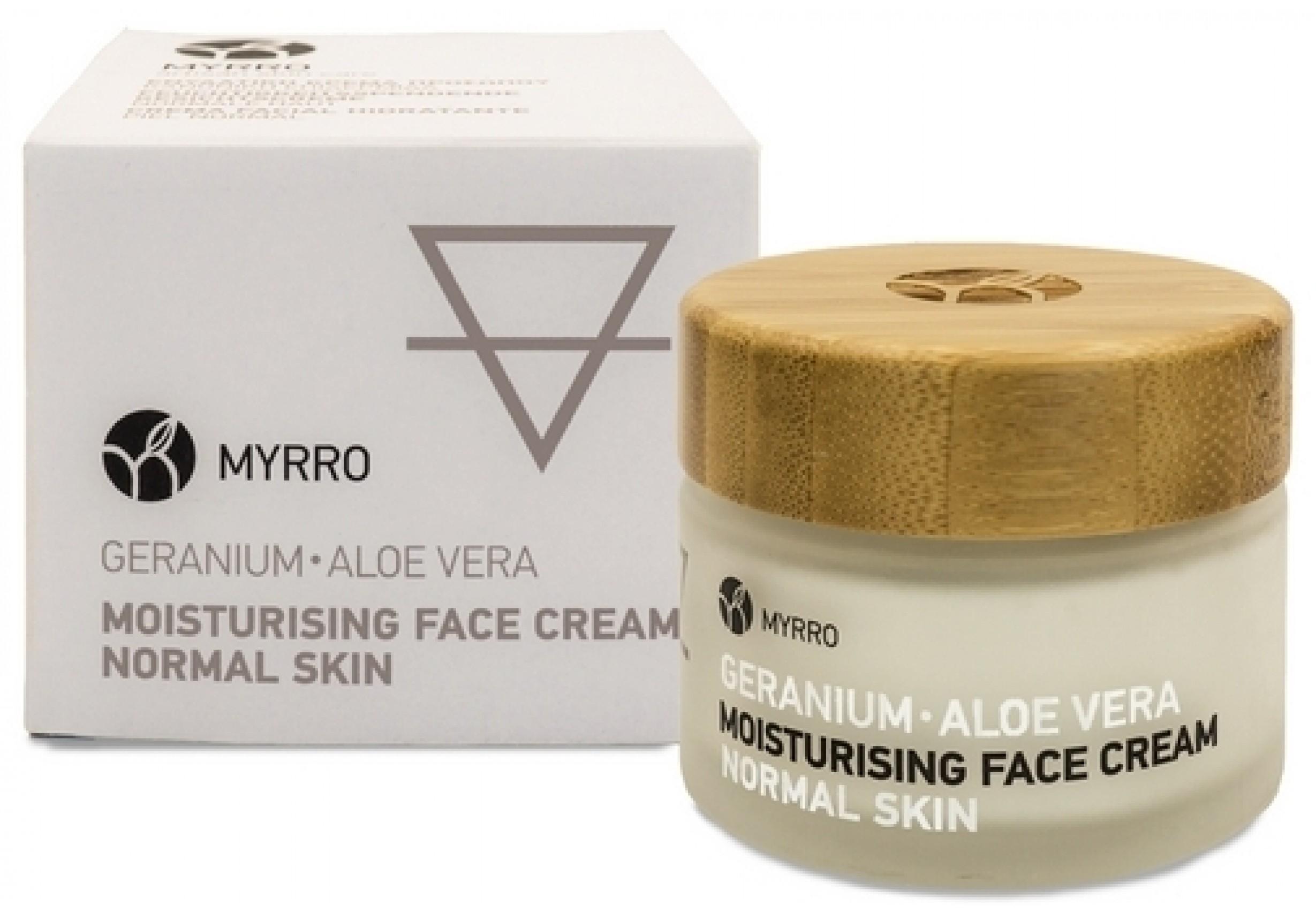 Овлажняващ дневен крем за лице за нормална кожа 50 мл
