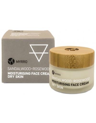 Овлажняващ крем за лице за суха кожа 50 мл