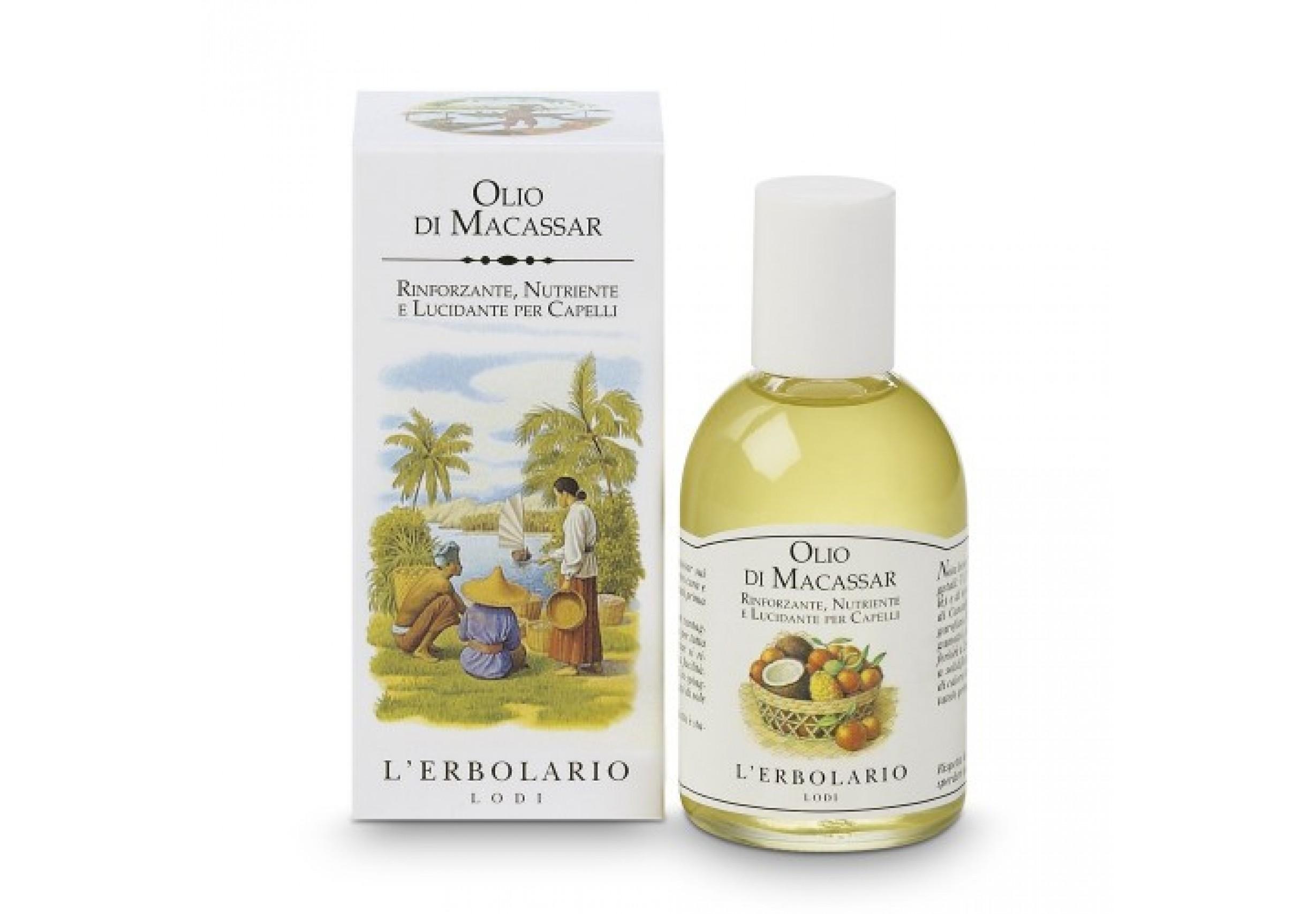 Олио от Макасар - Подхранване, обем и блясък за косата 100 мл