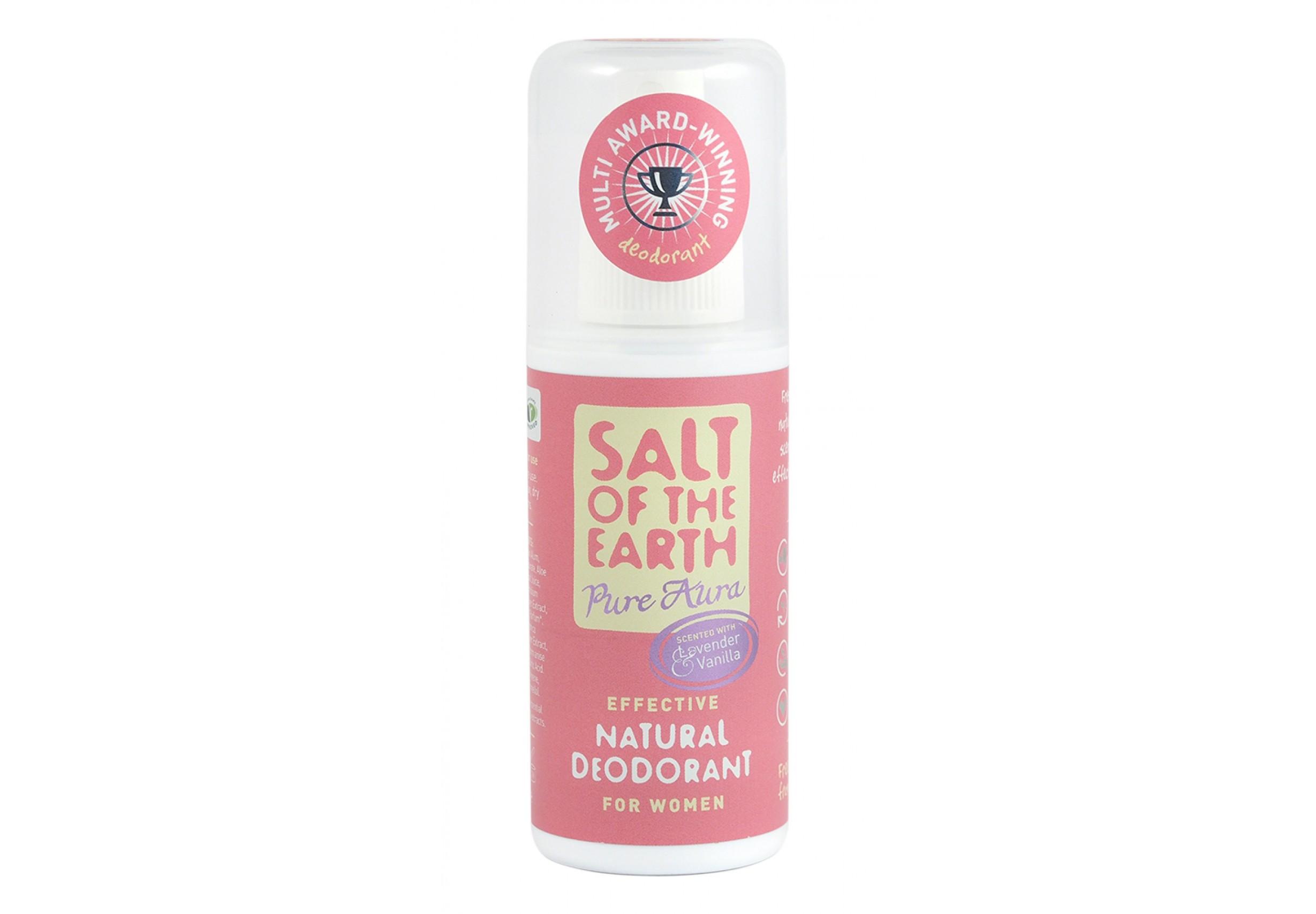 Pure Aura Scented Natural Deodorant Spray