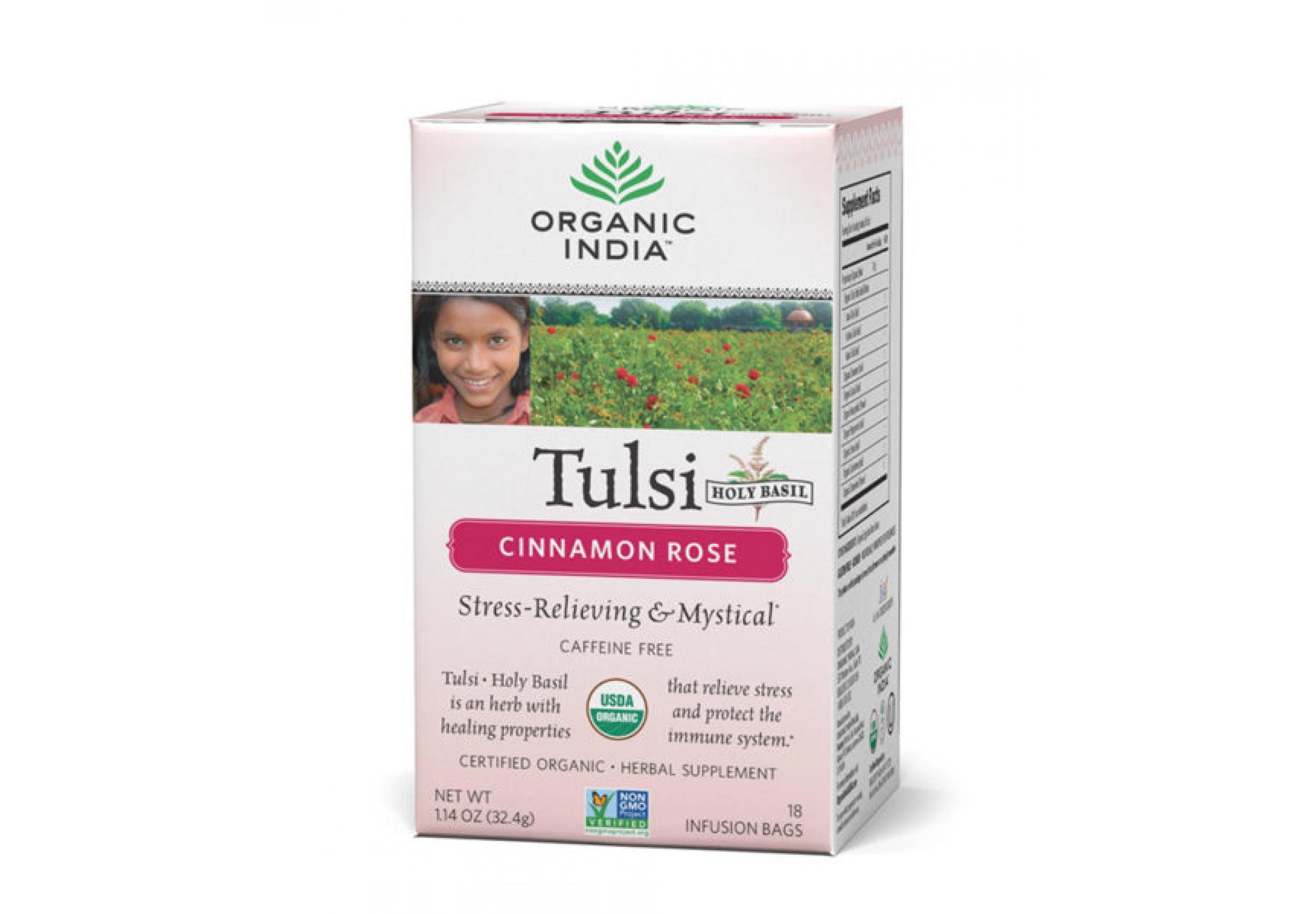 Tulsi Tea Cinnamon Rose