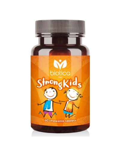 Strong kids - chewable tablets for healthy bones and teeth