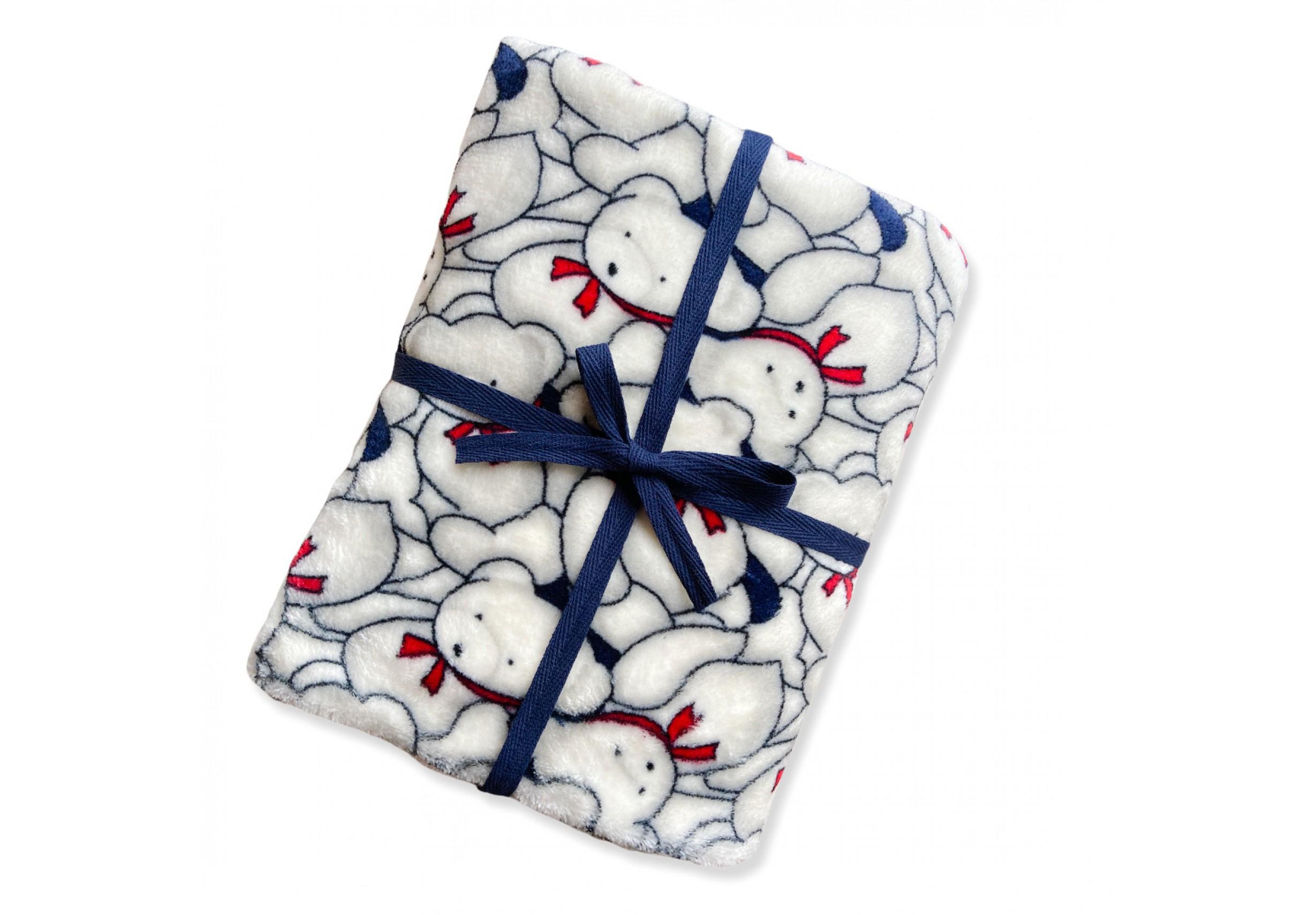 Пухкаво бебешко/детско одеяло