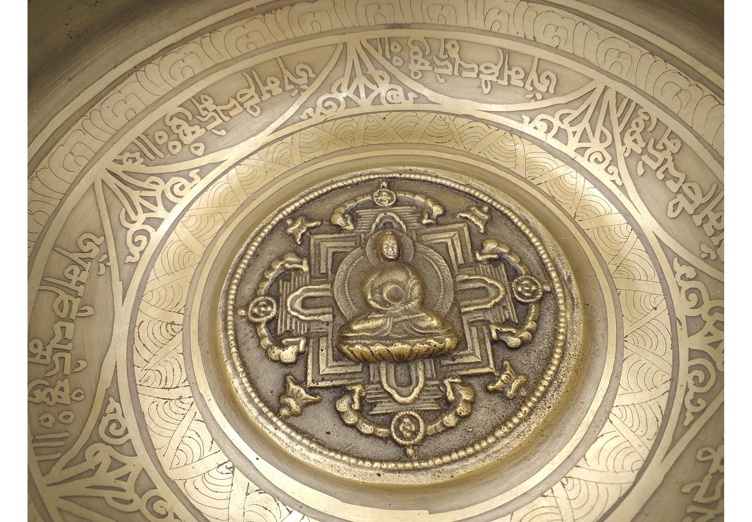 Tibetan singing bowl 6.1 inches