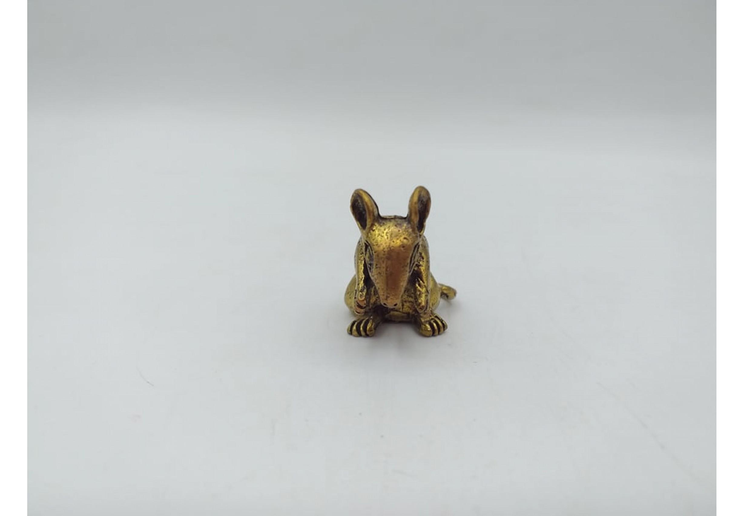 Фигурка мишка 2 х 3 см