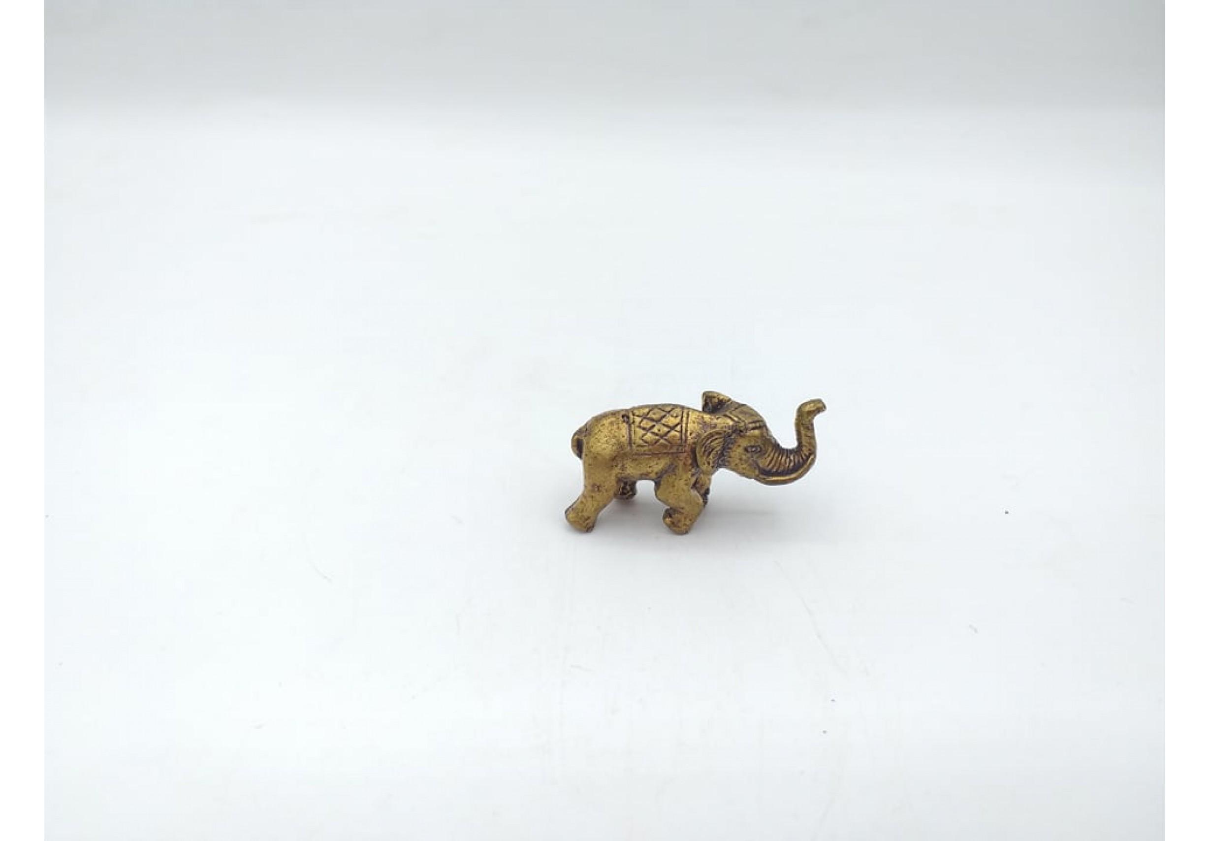 Фигурка слон 3 х 2 см