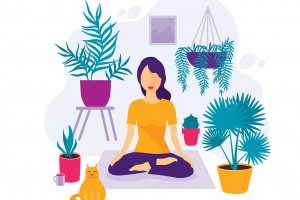 Yoga, Meditation and Breathing Techniques to Cope with Anxiety in Isolation